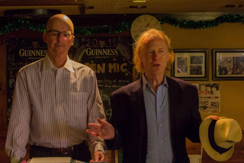 John Dougill introducing David Duff