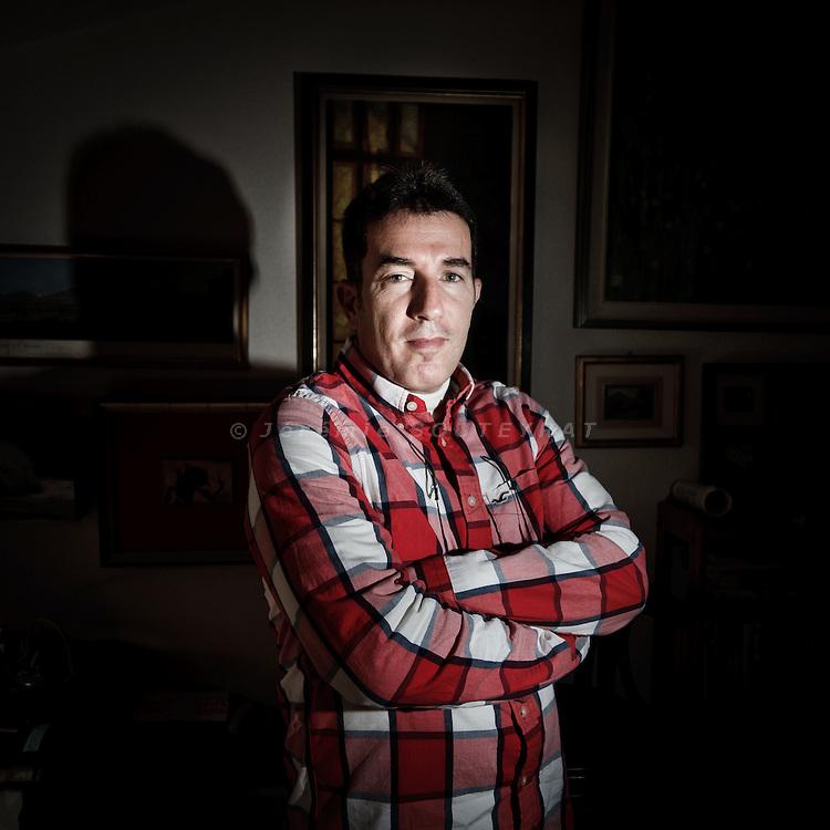 Swiss writer David Zoppetti by J. Souteyrat