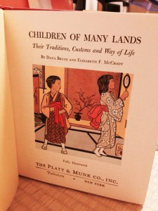 Book cover, Children of Many Lands