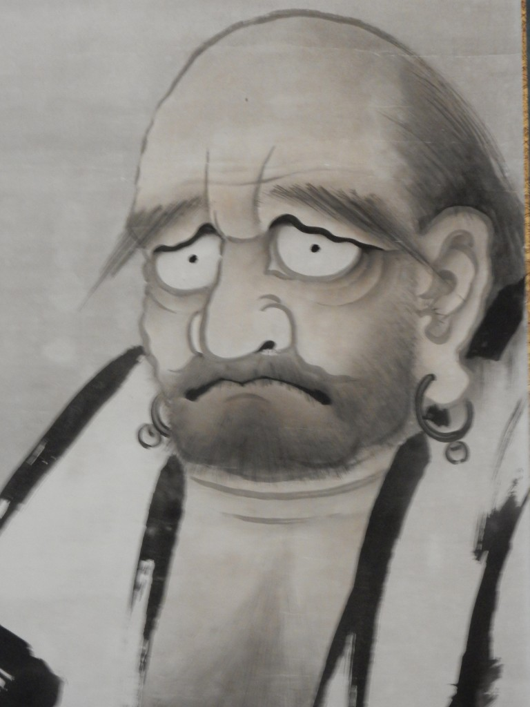 Daruma (aka Bodhidharma), legendary founder of what became Zen