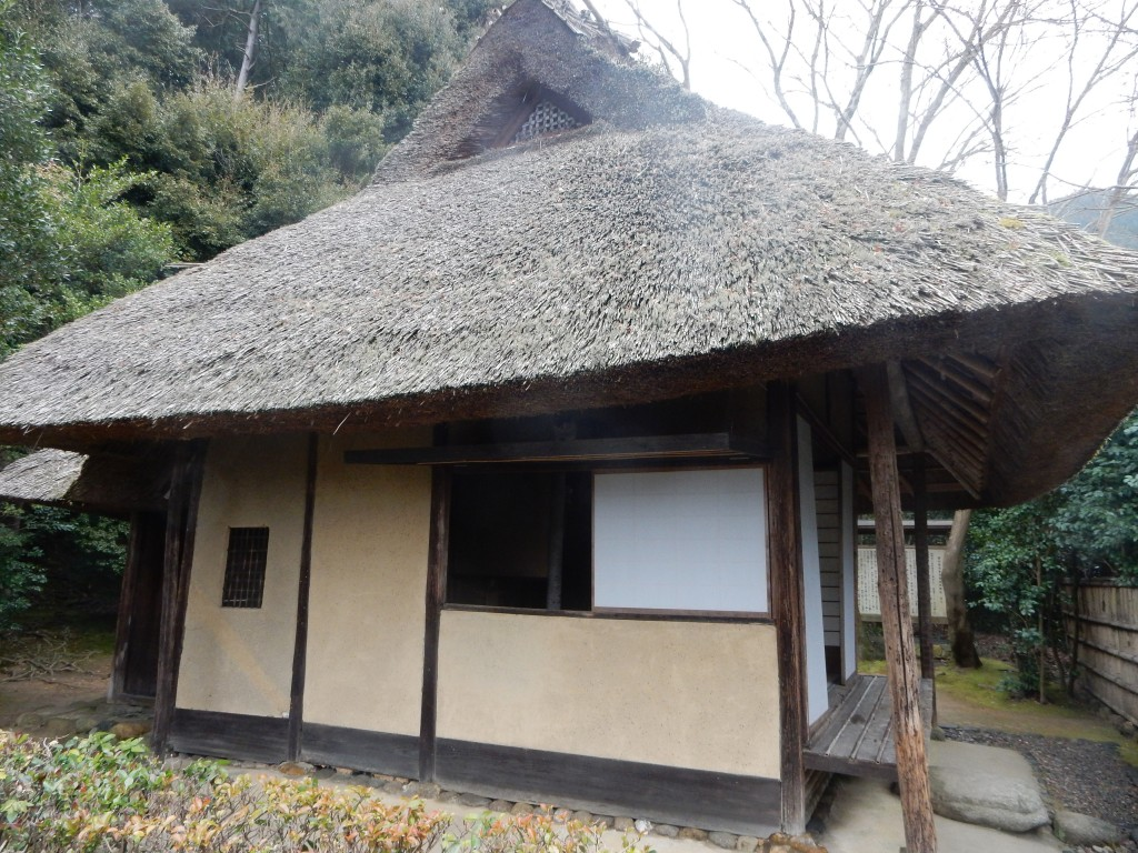 Basho-an, the hut at Konpuku-ji that Buson built in honour of his predecessor