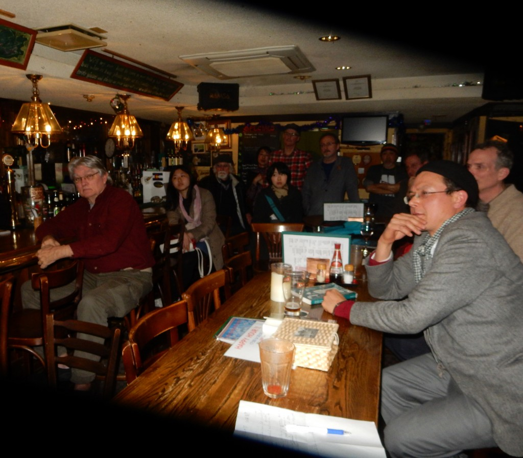 Audience at Brian Victoria