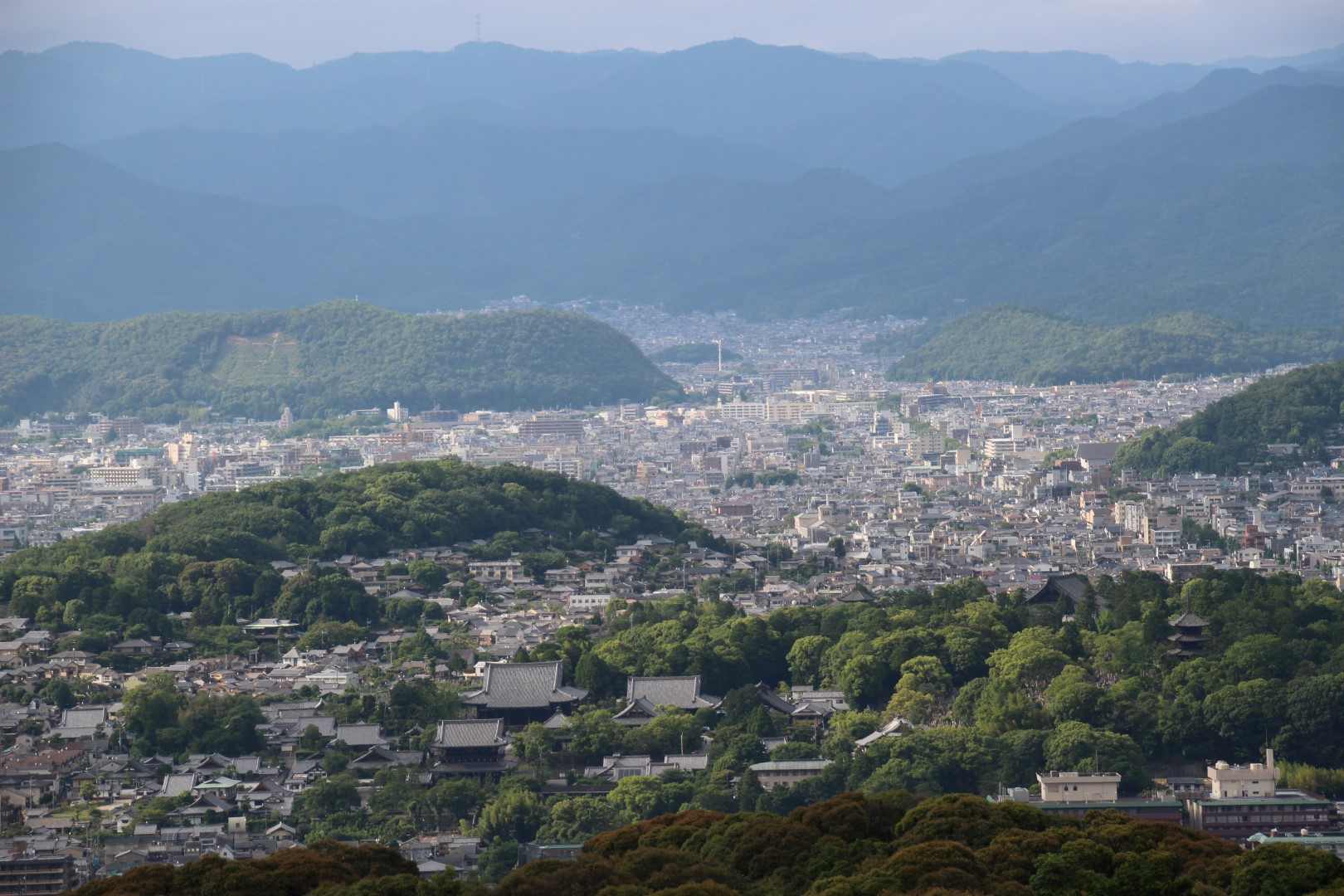Kyoto today – whatever would Kammu have thought?